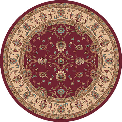 Dynamic Rugs Radiance 5 Round Red 43007-1464