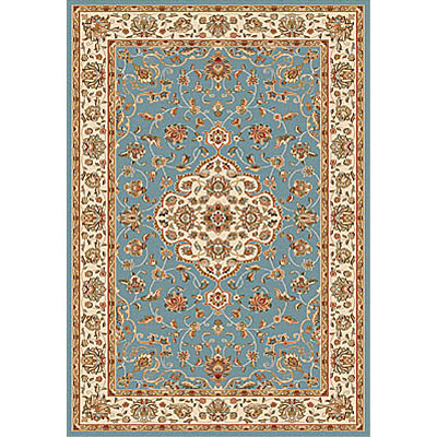 Dynamic Rugs Royal Garden 5 x 8 Blue-Ivory 103-8060