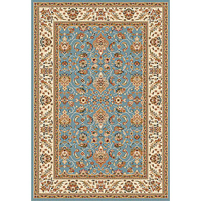 Dynamic Rugs Royal Garden 7 x 10 Blue-Ivory 105-8160