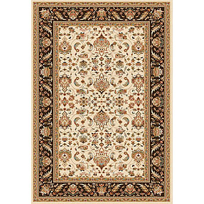 Dynamic Rugs Royal Garden 5 x 8 Ivory-Brown 105-8003