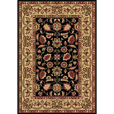 Dynamic Rugs Shiraz 4 x 6 Black 51006-2300