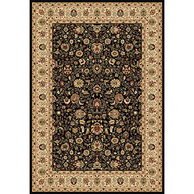 Dynamic Rugs Shiraz 4 x 6 Black 51007-2300
