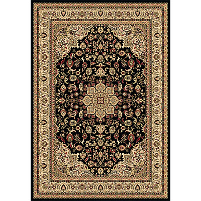 Dynamic Rugs Shiraz 4 x 6 Black 51010-2300