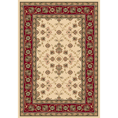 Dynamic Rugs Shiraz 4 x 6 Ivory Red 51025-2011