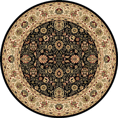 Dynamic Rugs Shiraz 5 Round Black 51007-2300
