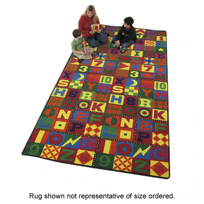 Flagship Carpets Floors That Teach 12 x 12 Floors That Teach FTT1212