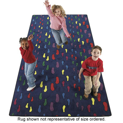 Flagship Carpets Footprints 12 x 18 Footprints FTP1218