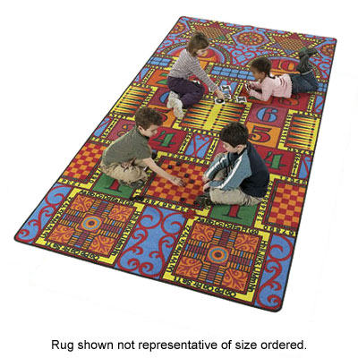 Flagship Carpets Games That Teach 6 x 12 Games That Teach GTT1206