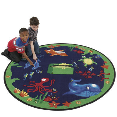 Flagship Carpets Sea Hunt 8ft Round Sea Hunt SHH8RD