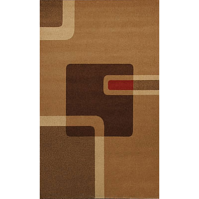 Foreign Accents Bistro Loft 5 x 8 Bistro Brown BSE5516