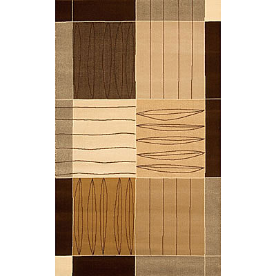 Foreign Accents Bistro Loft 5 x 8 Bistro Brown PAT5365