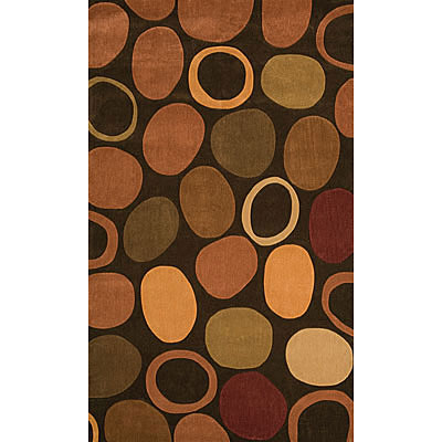 Foreign Accents Festival Dots 4 x 6 Brown MPP2465