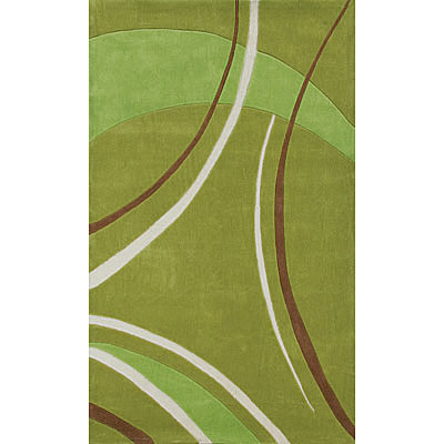 Foreign Accents Festival Waves 3 x 8 Runner Green JAM2754