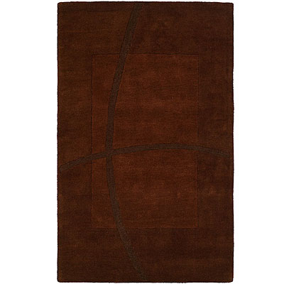 Harounian Rugs International Abstract 5 x 8 Brown LJ08