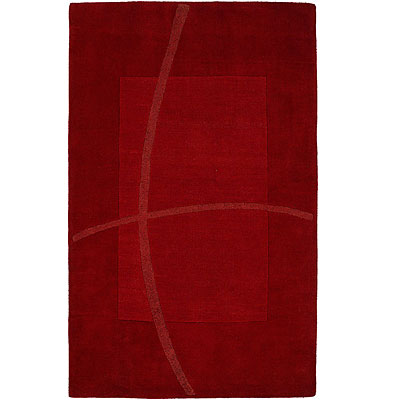 Harounian Rugs International Abstract 5 x 8 Red LJ08