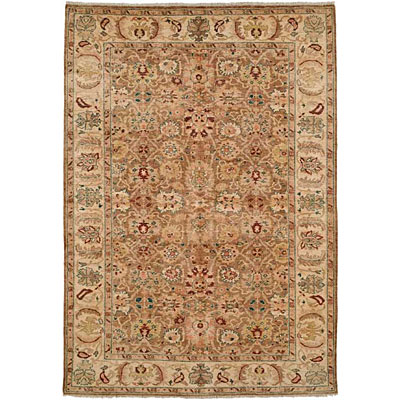 Harounian Rugs International Apadana 6 x 9 Brown/Cream 1217
