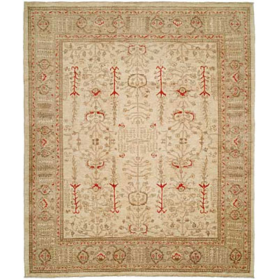 Harounian Rugs International Apadana 6 x 9 Ivory/Cream 1252