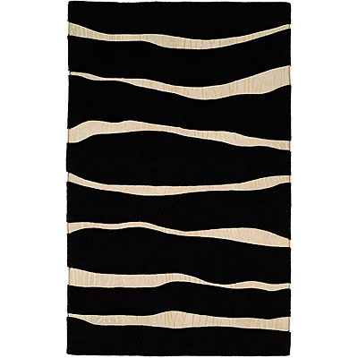 Harounian Rugs International Cambridge 5 x 8 Black 36198-2L