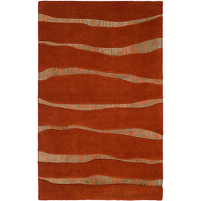 Harounian Rugs International Cambridge 5 x 8 Rust 36198-3L