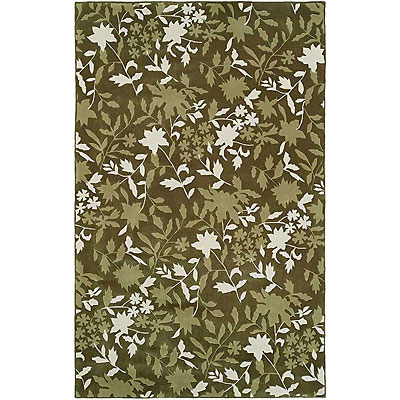 Harounian Rugs International Camelot II 4 x 6 Green 14