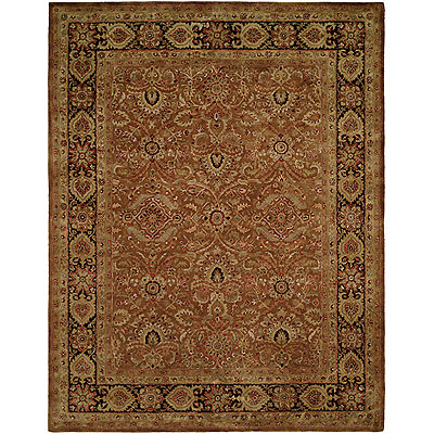 Harounian Rugs International Carlton 4 x 6 (Discontinued) Brown/Dark Brown 401
