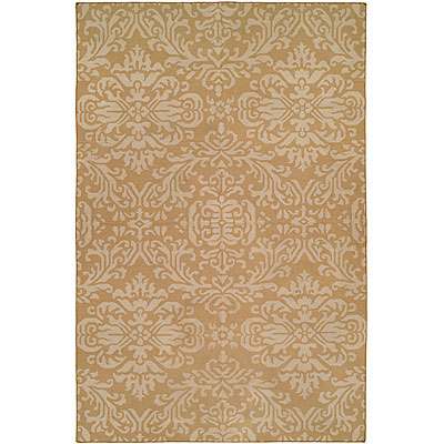 Harounian Rugs International Damask 6 x 9 (Discontinued) Beige 9-1