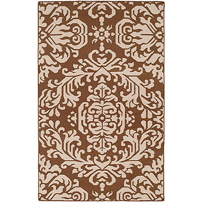 Harounian Rugs International Damask 6 x 9 (Discontinued) Brown/Brown DHG8