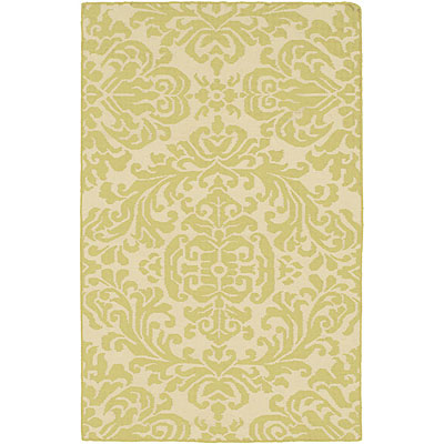 Harounian Rugs International Damask 6 x 9 (Discontinued) Lime DHG10