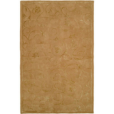 Harounian Rugs International Eden Park 5 x 8 Gold 0041