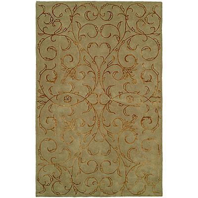 Harounian Rugs International Eden Park 5 x 8 Green 0031