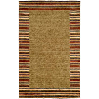 Harounian Rugs International European 4 x 6 Green 1234