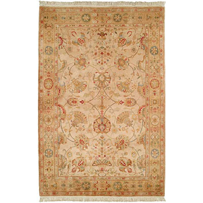 Harounian Rugs International Excelsior 8 x 10 Gold/Gold SA007