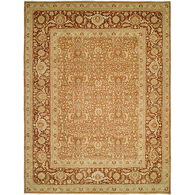 Harounian Rugs International Hadji Jalili 6 x 9 Brown/Dark Brown 6013