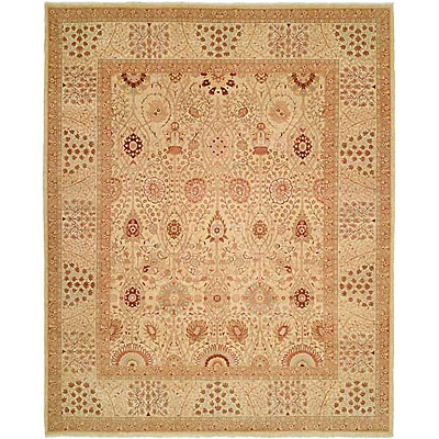 Harounian Rugs International Hadji Jalili 6 x 9 Cream/Ivory 6015