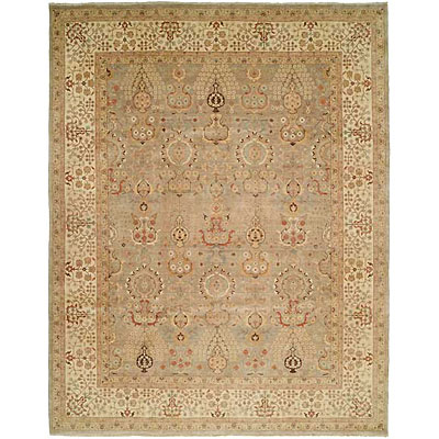 Harounian Rugs International Hadji Jalili 6 x 9 Grey/Ivory 6022