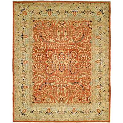 Harounian Rugs International Hadji Jalili 6 x 9 Rust/Cream 6016