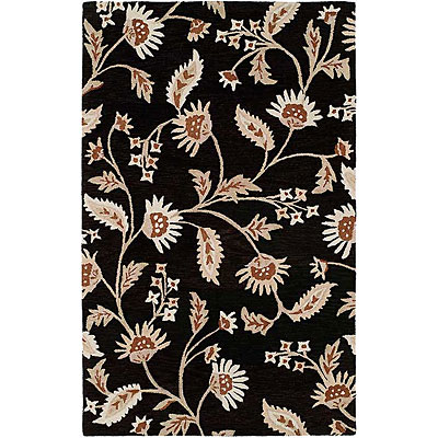 Harounian Rugs International Inspiration 5 x 8 Black 366642