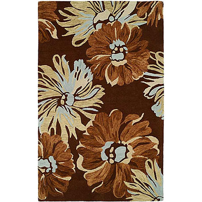 Harounian Rugs International Inspiration 8 x 11 Brown 358664