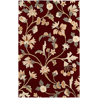 Harounian Rugs International Inspiration 8 x 11 Burgundy 366582