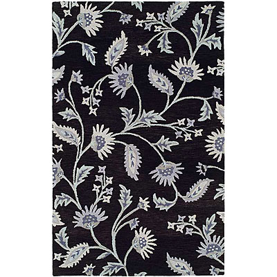 Harounian Rugs International Inspiration 8 x 11 Navy 366612