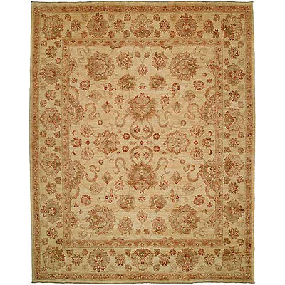 Harounian Rugs International Kabul 9 x 12 Beige/Beige KB30