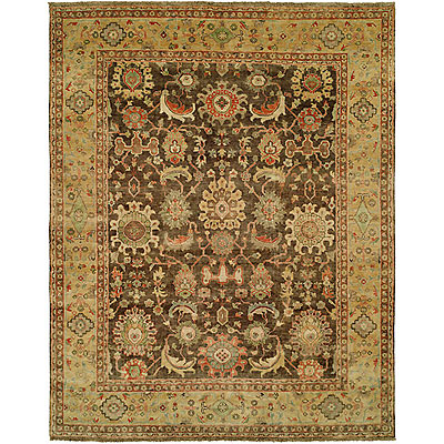 Harounian Rugs International Mahal 8 x 10 Brown/Gold MJ48