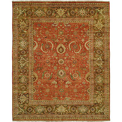 Harounian Rugs International Mahal 8 x 10 Rust/Brown MJ15