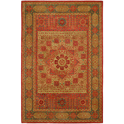Harounian Rugs International Mamlouk 6 x 9 Gold 1531