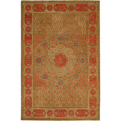 Harounian Rugs International Mamlouk 6 x 9 Green 1532