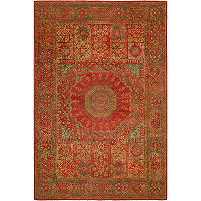 Harounian Rugs International Mamlouk 6 x 9 Rust 1526