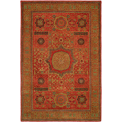 Harounian Rugs International Mamlouk 6 x 9 Rust 1529
