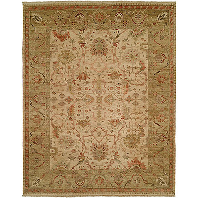 Harounian Rugs International Newburry 4 x 6 Ivory/Green CH9
