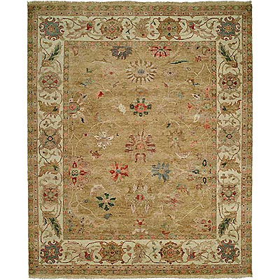 Harounian Rugs International Newburry 4 x 6 Light Gold/Ivory CH7