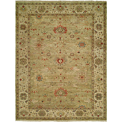 Harounian Rugs International Newburry 4 x 6 Light Green/Ivory CH6